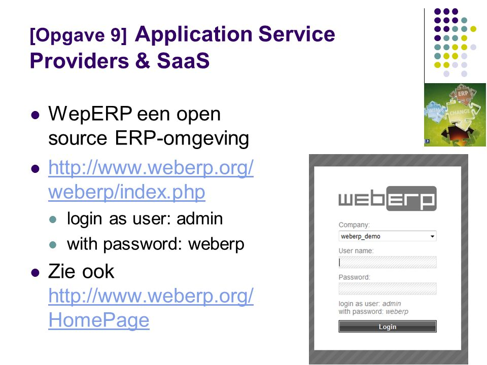 [Opgave 9] Application Service Providers & SaaS